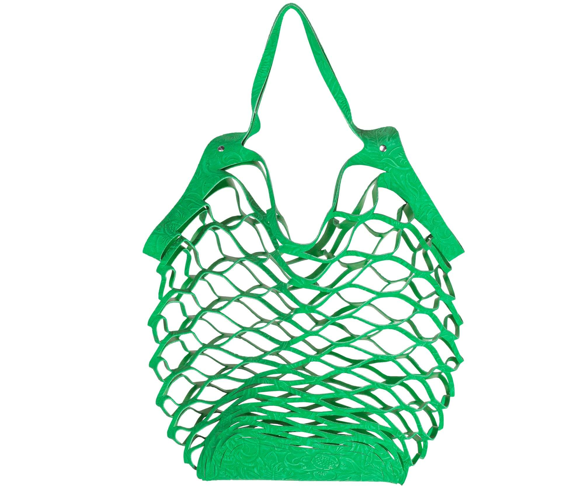Vanzetti cut out bag green