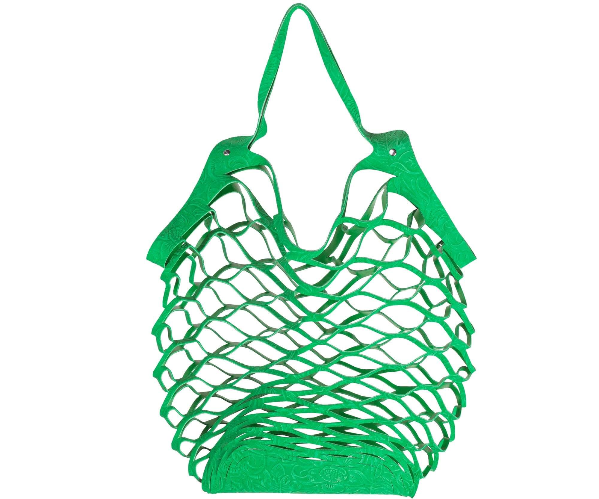 Vanzetti cut out bag green