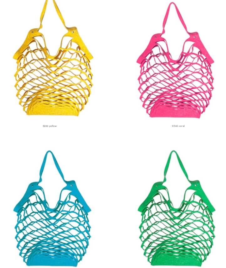 Vanzetti cut out bag multi color